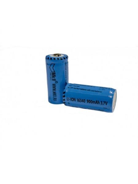 16340 Li-ion 900 mAh