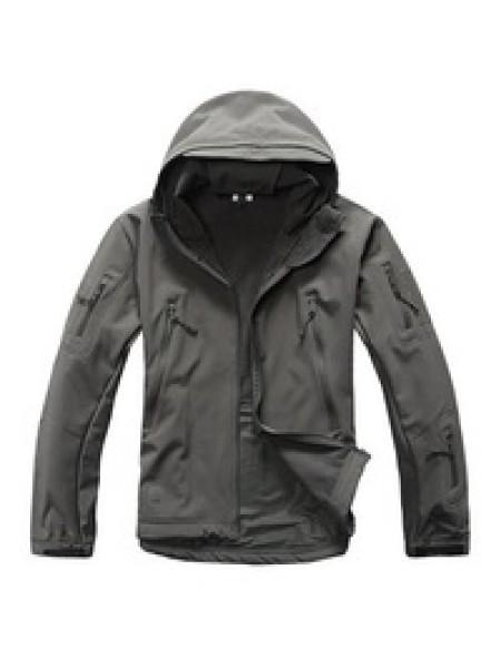 Куртка SOFT SHELL серая 4XL