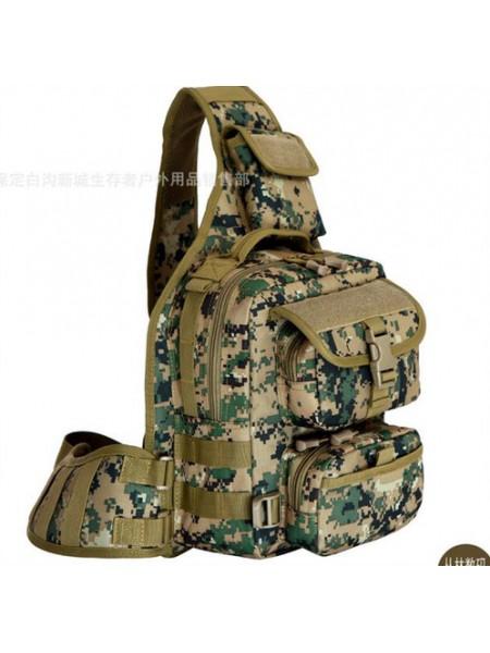 Однолямочный рюкзак №3 марпат