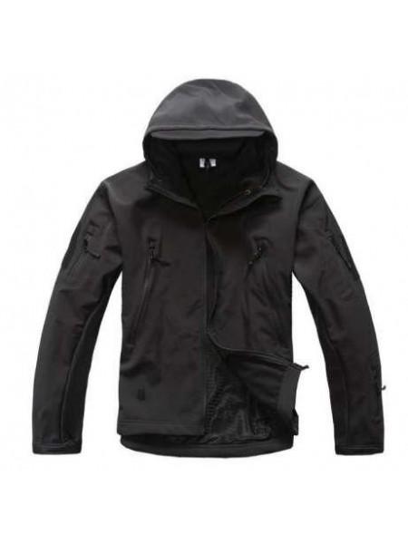Куртка SOFT SHELL черная 2XL