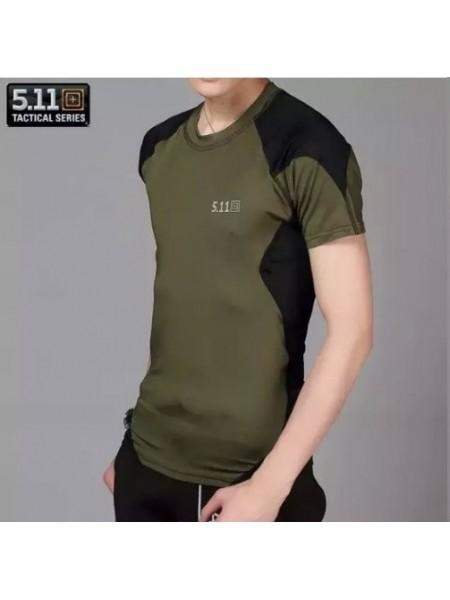 Термо-футболки 511 короткий рукав зеленый S