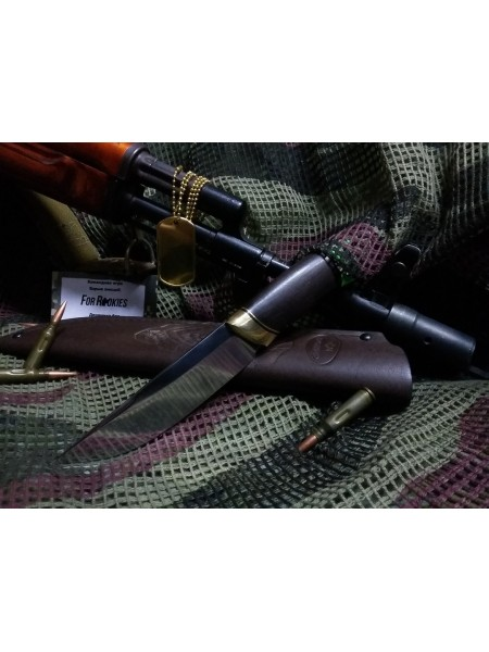"""Нож """"Зной"""" 110Х18 кованый, ц.п.д."""