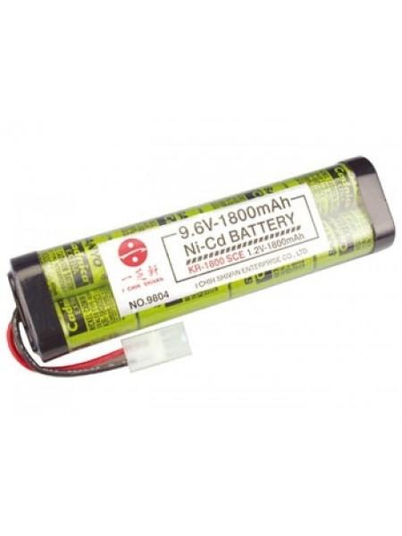 Аккумулятор 1800 mAh Large ICS 9.6V (Sanyo)