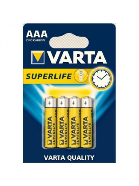 Батарейки Varta Superlife AAA