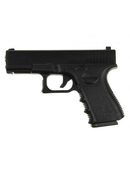 ПИСТОЛЕТ ПНЕВМ. Glock17 (Galaxy) G.15 SPRING