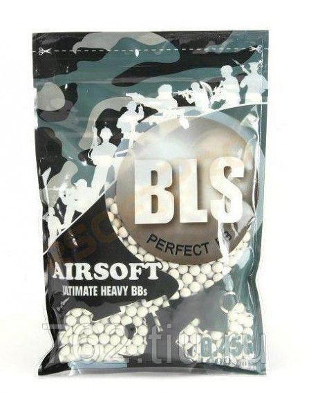Шарики BLS 0,45 (1000шт, белые, пакет) Taiwan