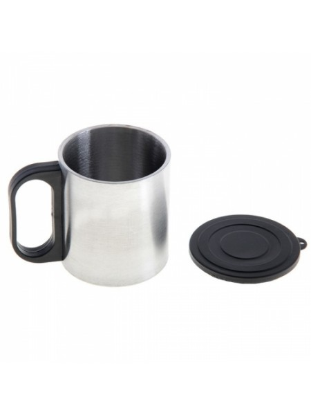 Термокружка «Металл», 0.22 л, хром