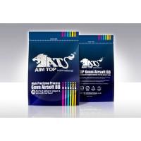 Шарики AIM TOP 0,30 (3300 шт., белые, пакет) (24 пакета в коробке) BB-30X33