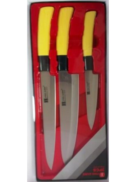 Набор из 3х ножей 200уз./200шир./130мм белый