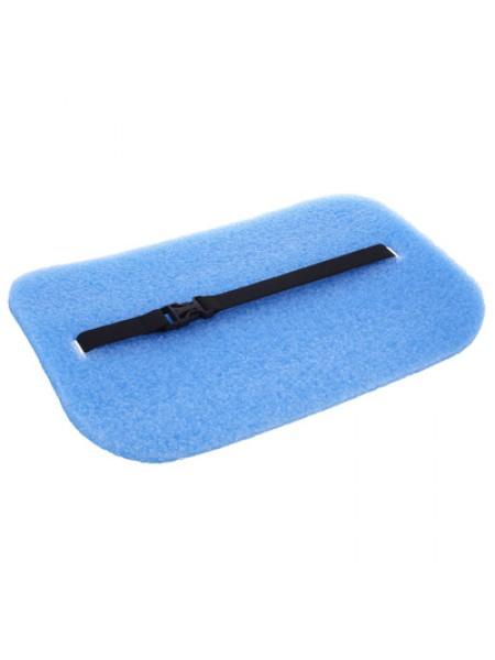 Коврик с фольгой, толщина 10 мм, цвет синий
