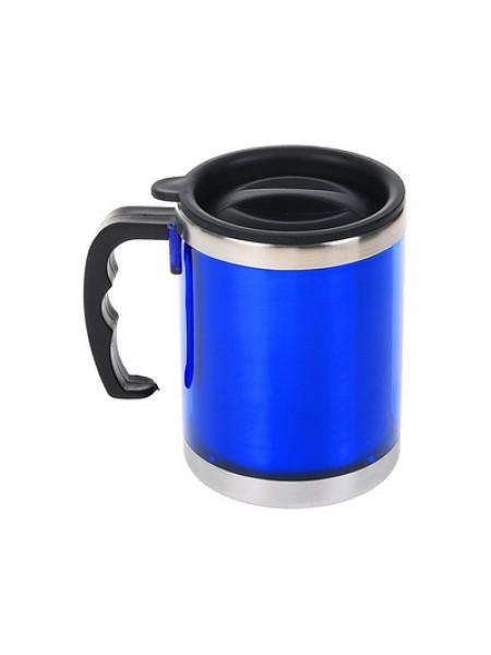 Термокружка «Классика стиля», 0.45 л, синяя