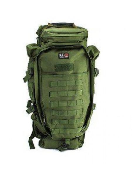 РЮКЗАК Tactical Full Gear Rifle Combo 62х25х16cm + 90х20х16cm AS-BS0006OD