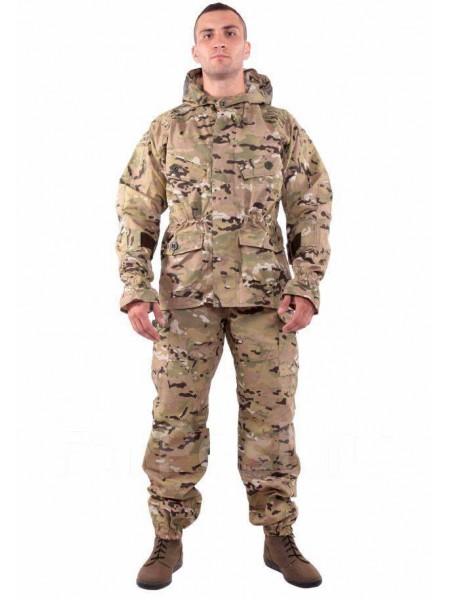 Костюм Снайпер-2 рип-стоп с налокотниками и наколенниками multicam 40-42/170-176