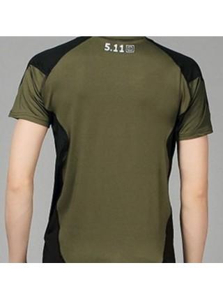 Термо-футболки 511 короткий рукав коричневая M