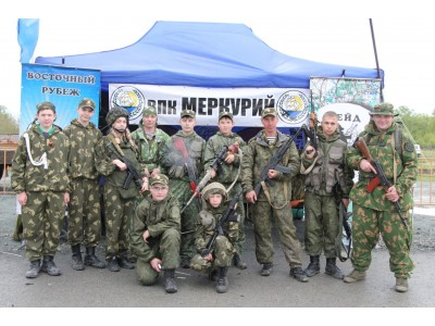 <В Надеждинском районе ВПК Меркурий проводит военно – полевые сборы