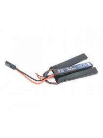 АКБ BlueMAX 11.1V Lipo 1100mAh 20C triple 3x (5.2x21x102) М-серия цевье, приклад
