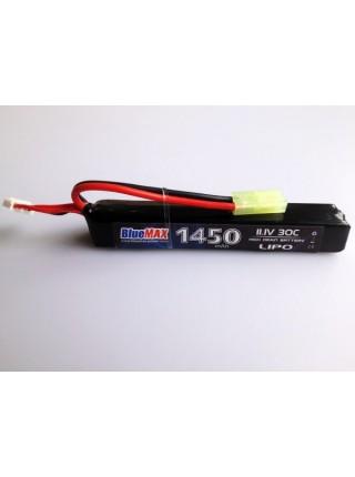 АКБ BlueMAX 11.1V Lipo 1450mAh 30C stick 22x16.5x115mm крейнсток , труба приклада , весло , ПКМ , М