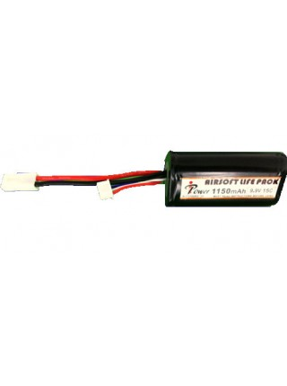 АКБ iPower 9.9V LiFe 1150mAh 15C ALF1150R3C-3S 34x36x72