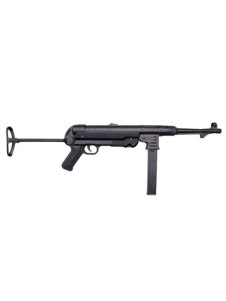 АВТОМАТ ПНЕВМ. MP-40 AGM, AEG, металл, черный пластик - MP007 black