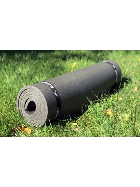 Коврик туристический 12 мм Цвет: Черный