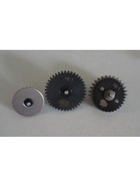 НАБОР ШЕСТЕРНЕЙ 3mm Steel CNC Gear Set 18:1 ZCAIRSOFT CL-03