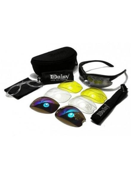 ОЧКИ ЗАЩИТНЫЕ Daisy C3 Outdoor UV Protection Sunglasses Set 4 сменные линзы AS-GG0019