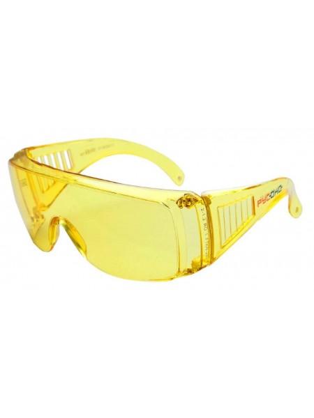 Очки защитные СПЕКТР(контраст) желтые арт.113212К