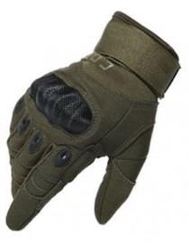 Перчатки CQB полнопалые с защитой котяшек Олива L