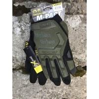 Перчатки Mechanix M-Pact реплика Olive размер M
