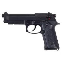ПИСТОЛЕТ ПНЕВМ. KJW M9 GBB, GAS, черный, металл, модель - M9 GAS