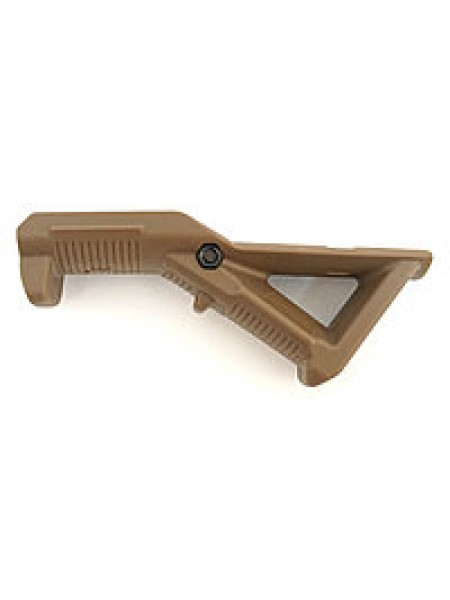 РУКОЯТКА НАКЛАДКА НА ЦЕВЬЕ Magpul Angled fore Grip PTS AFG1 Tan 090(TN)