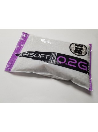 Шарики BLS 0,20 (1кг, белые, пакет) (20 пакетов в коробке) Taiwan 1KG-H2