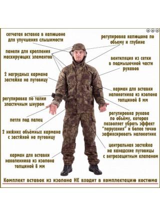 Костюм Снайпер-2 погран.цифра р.44-46/170-176