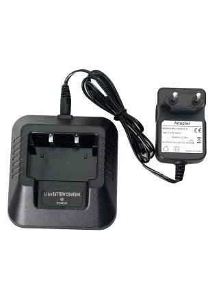 Зарядный стакан с адаптером для радиостанции Baofeng UV-5R